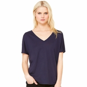 Bella Canvas Ladie's Flowy Simple V-Neck T-Shirt