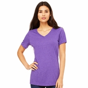 Bella Canvas Ladie's Missy V-Neck T-Shirt