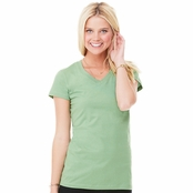 Bella Canvas Ladie's Short-Sleeve V-Neck T-Shirt