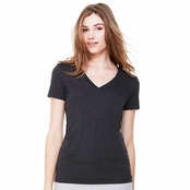 Bella Canvas Ladies' Deep V-Neck T-Shirt
