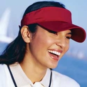 Big Accessories Cotton Twill Visor