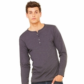 Bella Canvas Long-Sleeve Henley