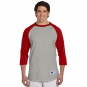 Champion Cotton Raglan Baseball Jersey