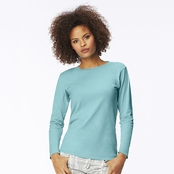 Comfort Colors Ladie's Garment-Dyed Long-Sleeve T-Shirt