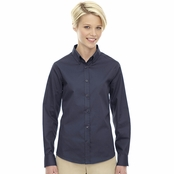 Core 365 Operate Ladie's Long Sleeve Twill Shirt