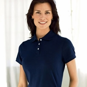 Devon & Jones Ladies Perfect Pima Interlock Polo Shirt