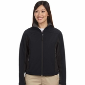 Devon & Jones Ladies Soft Shell Colorblock Jacket