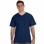 Fruit of the Loom 5 oz. 100% Heavy Cotton HD V-Neck T-Shirt