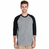 Gildan Heavy Cotton 3/4-Raglan Sleeve T-Shirt