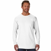 Hanes 100% Ringspun Cotton Nano-T Long-Sleeve T-Shirt