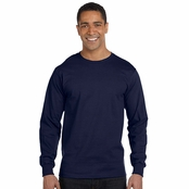 Hanes ComfortSoft Cotton Long-Sleeve T-Shirt