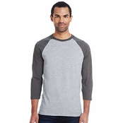 Hanes Men's X-Temp Baseball T-Shirt