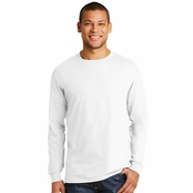 Hanes Mens X-Temp Long-Sleeve T-Shirt