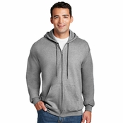 Hanes Ultimate Cotton Full-Zip Hoodie Sweatshirt