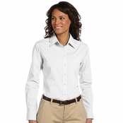 Harriton Ladies Essential Poplin