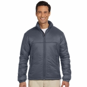 Harriton Men's Essential Polyfill Jacket