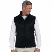 Harriton Men's Essential Polyfill Vest