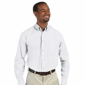 Harriton Men's Essential Poplin Shirt