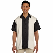 Harriton Two-Tone Bahama Cord Camp Shirt