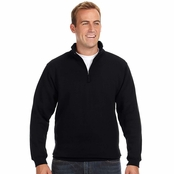 J America Heavyweight Fleece Quarter-Zip
