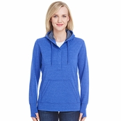 J America Ladies Omega Stretch Snap-Placket Hood