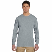 Jerzees 100% Polyester Long-Sleeve T-Shirt