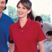 Jerzees Ladies Classic Cotton Pique Polo Shirt