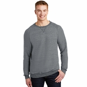 Jerzees Snow Heather French Terry Crewneck Sweatshirt