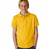 Jerzees Youth 50/50 Jersey Knit Polo Shirt