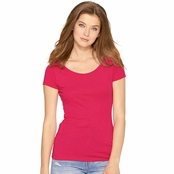 Next Level Ladie's Triblend Scoop Neck Tee