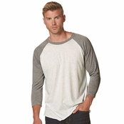 Next Level Unisex Triblend 3/4-Sleeve Raglan Tee