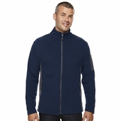 North End Men's Full-Zip Microfleece Contrast Jacket