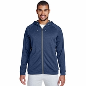 Team 365 Men's Excel Melange Performance Fleece Jacket