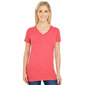 Threadfast Apparel Ladies Pigment Dye V-Neck Tee