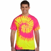 Tie-Dye 100% Cotton Tie-Dyed T-Shirt