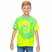 Tie-Dye Youth 100% Cotton Tie-Dyed T-Shirt