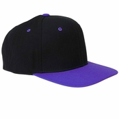 Yupoong 6-Panel Structured Flat Visor Cap