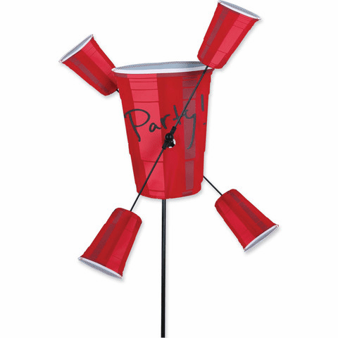 10 In. Whirligig - Party Cups