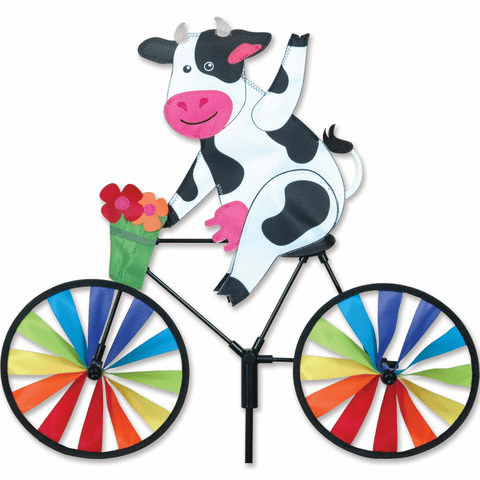 20 In. Bike Spinner - Cow