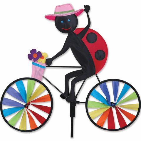 20 In. Bike Spinner - Ladybug
