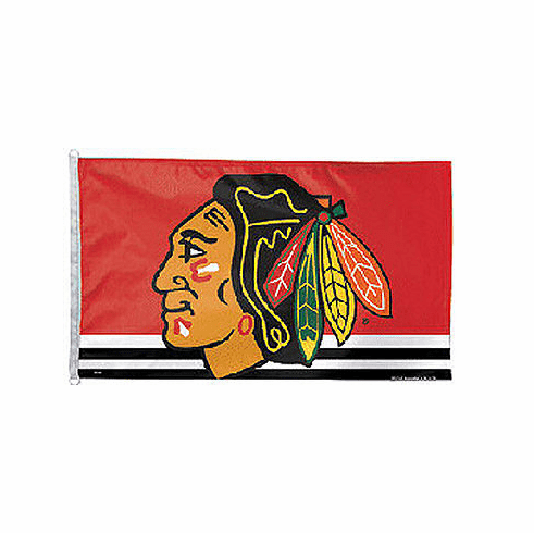 Chicago Blackhawks NHL Flag