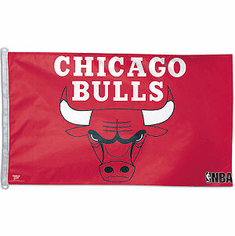 Chicago Bulls 3x5 flag