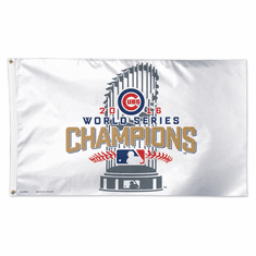 Cubs World Series   outdoor 3x5  flag