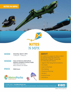 Kites-MPX Voice America  Park  April 7 th 2018