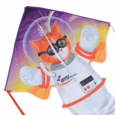 Large Easy Flyer Kite - Catstronaut