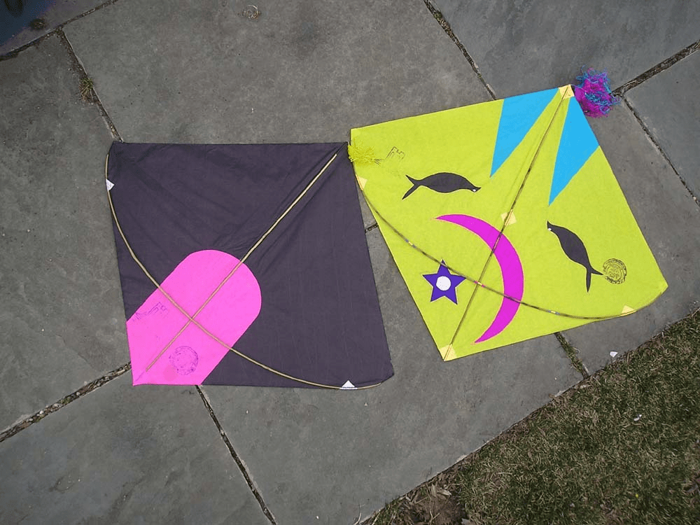 LARGE FIGHTER KITE