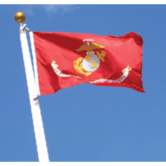 Marines 3'x5' flag with gromets Made in USA!!!!