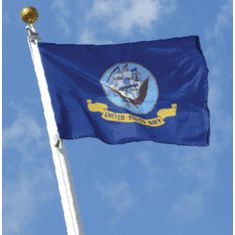 Navy 3'x5'  Flag with gromets  Made in USA!!!!