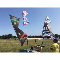 Quad  line kites  Fulcrum-revolution     1.5 -EXP-John Barresi 1.5