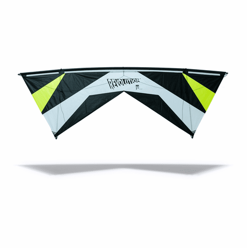 Revolution 1.5 Classic Sport Kite Bundle   Quad-Line Sport Kite with Shanti lines the Best in the industry!With A Free Ultra Light  3 piece leading edge
